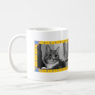 Star Pattern Border Mug