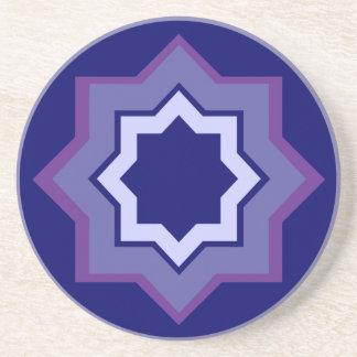 Star Pattern Drink Coasters