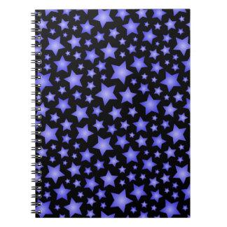Star pattern notebook