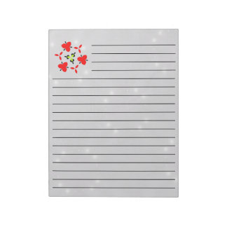 Star Pattern Notepad