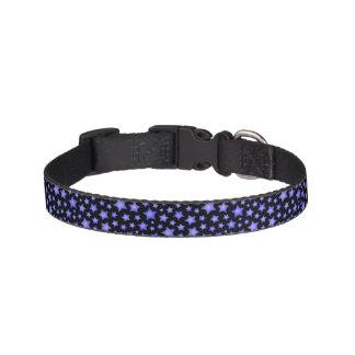 Star pattern pet collar
