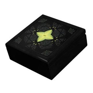 Star Pattern Template Gift Box