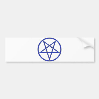 Star Pentagram Five 5 Pointed Symbol Classic Comic Bumper Sticker