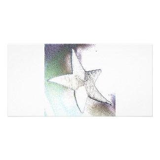 Star Custom Photo Card