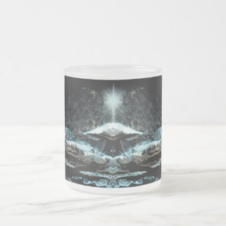 Star Port Frosted Glass Mug