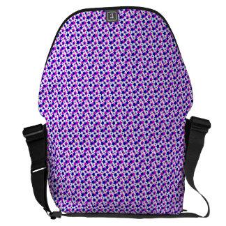 STAR POWER: Blue-Purple Parade! Courier Bags