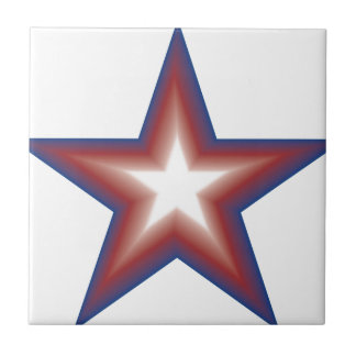 Star Power Small Square Tile