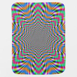 Star Psychedelic Baby Blanket