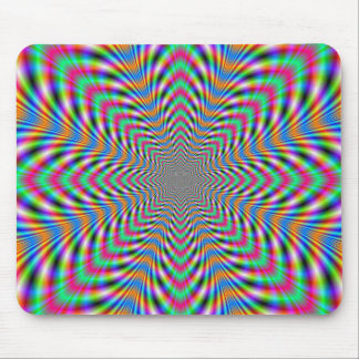 Star Psychedelic Mousepad