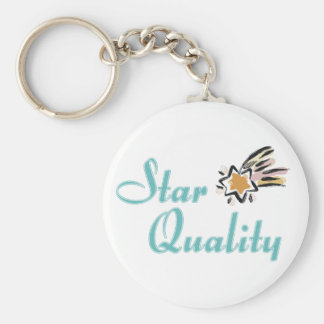 Star Quality Keychain
