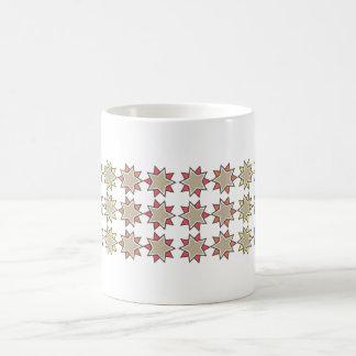 star_rainbow cup basic white mug