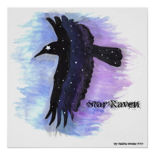 Star Raven, By Felicia Boites Poster