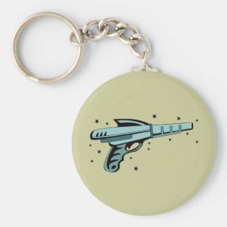 Star Ray Gun Laser Pistol Key Ring