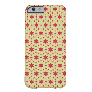 Star Red Pattern Barely There iPhone 6 Case