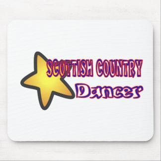 Star Scottish Country Dancer Mousepad
