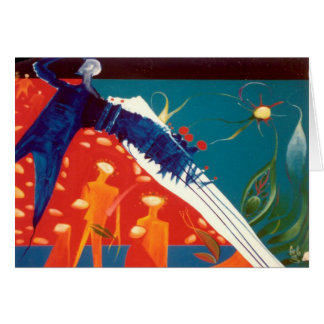 Star Seed Generation By Gregory Gallo Greeting Card