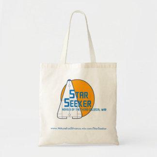 Star Seeker Logo Tote - Orange Planet - Centered
