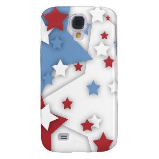Star Shadow Red White Blue Galaxy S4 Galaxy S4 Case