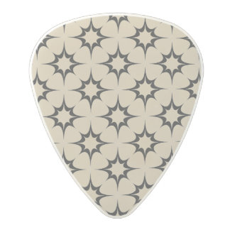 Star shape background polycarbonate guitar pick