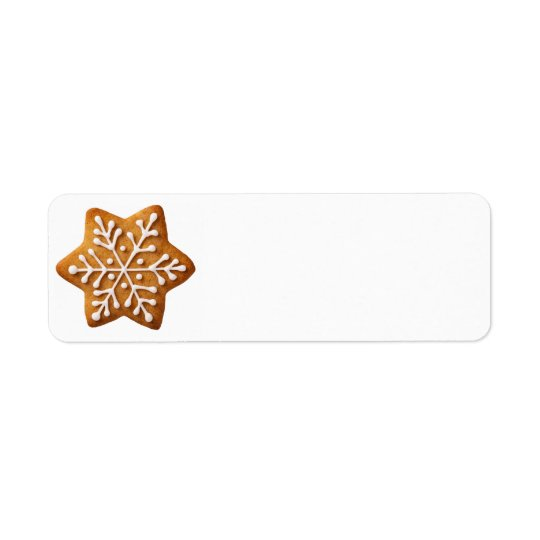 Star Shape Christmas Gingerbread
