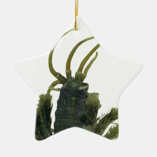 Star-shaped Polychaete Worm Christmas Ornament