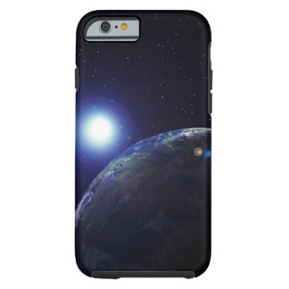 Star shining on Earth Tough iPhone 6 Case