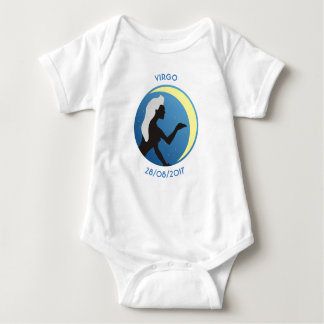 Star Sign Baby Vest Virgo Baby Bodysuit