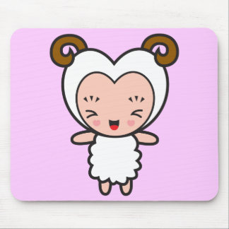Star Sign Character - Aries Mouse Pads