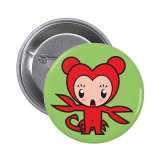 Star Sign Character - Scorpio 6 Cm Round Badge