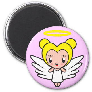 Star Sign Character - Virgo 6 Cm Round Magnet
