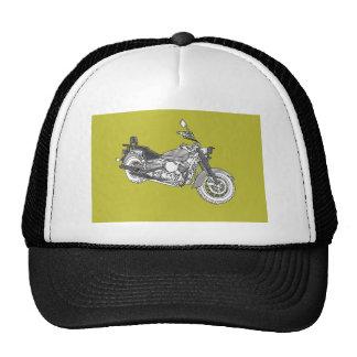 Star Silver Bike Cap