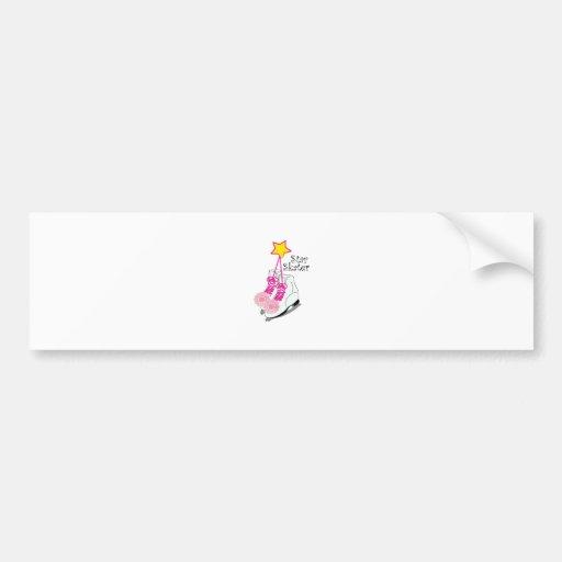 Star Skater Bumper Sticker
