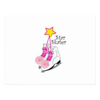 Star Skater Postcard