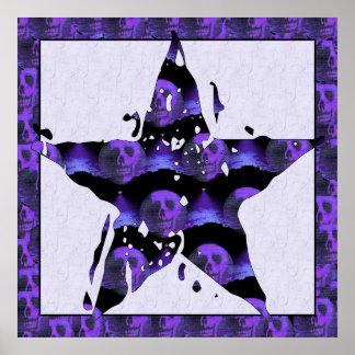 Star Skulls Poster