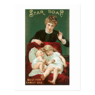 Star Soap Postcard