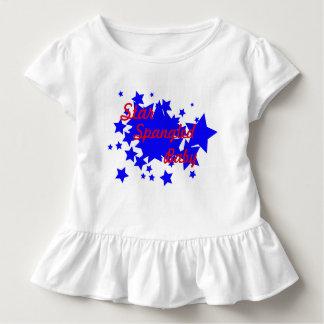 Star Spangled Baby Ruffle Tee