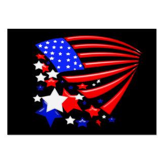 Star Spangled Banner America Flag Business Card