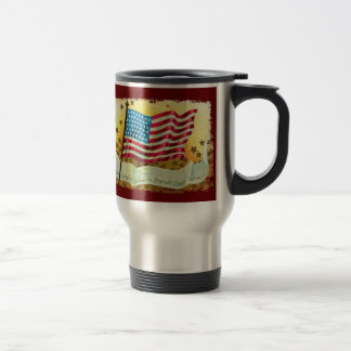 Star Spangled Banner Flag Travel  Mug