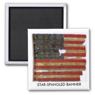 STAR-SPANGLED BANNER MAGNET