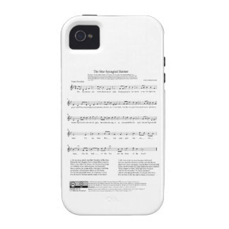 Star-Spangled Banner National Anthem Music Sheet Case-Mate iPhone 4 Cover