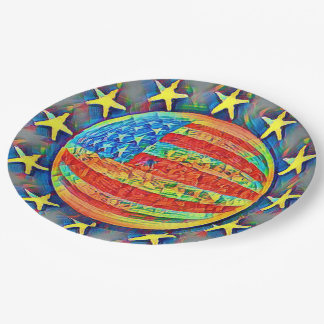 Star Spangled Banner Paper Plate