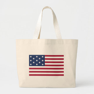 Star Spangled Banner With 13 Stars Tote Bags