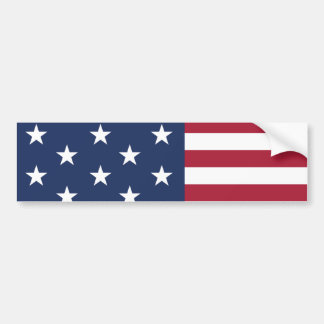 Star Spangled Banner With 13 Stars Bumper Stickers