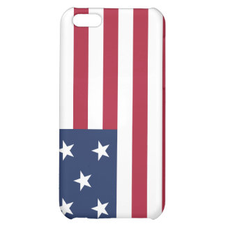 Star Spangled Banner With 13 Stars iPhone 5C Cases