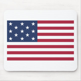Star Spangled Banner With 13 Stars Mousepad