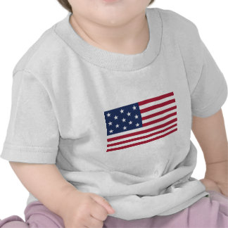 Star Spangled Banner With 13 Stars Tee Shirt