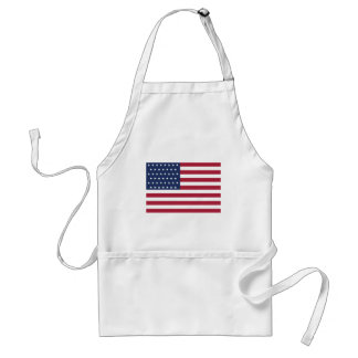 Star Spangled Banner With 45 Stars Aprons
