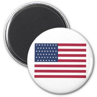 Star Spangled Banner With 45 Stars Fridge Magnet