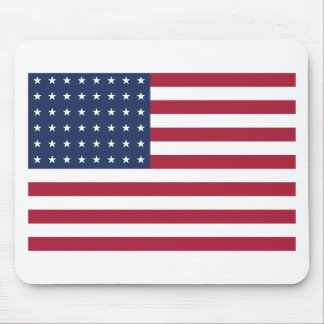 Star Spangled Banner With 48 Stars Mousepads
