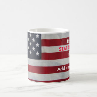 STAR SPANGLED, day!, Add a... Basic White Mug